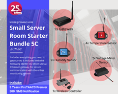 Small Server Room Starter Bundle 5C