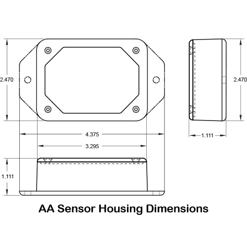 AA-sensor-housing-dimensions